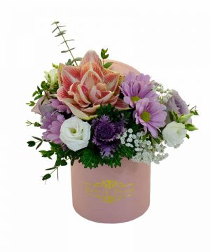 """Aranjament floral """"Minerva Box"""""""