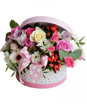 "Aranjament floral ""Sparkle Box"""