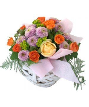 """Coșuleț cu flori """"Sunny Day"""""""
